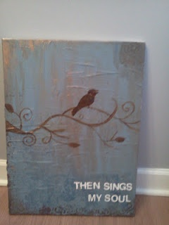 DIY Bird Print. Then sings my soul, (my savior God to thee, how great thou art!)