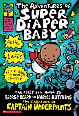 Captain Underpants book series #kids #books