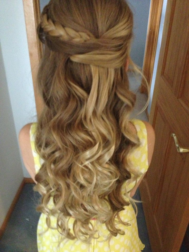 My father daughter dance hair!!!  #fin
