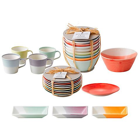 Buy Royal Doulton 1815 Tapas Tableware Online at johnlewis.comIT IS SO PRETTY!!!!!!!!!!!