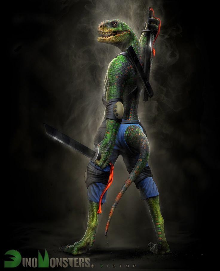dinosaur warrior | dinosaurs-room-fantasy-art-invisible ...