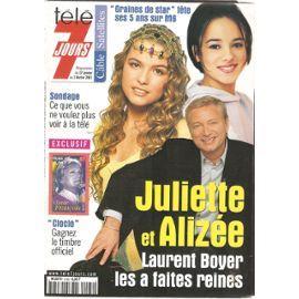 Laurent Boyer, Cécilia Cara et Alizée