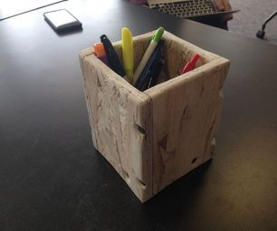 How to Assemble a Wooden Pencil Box