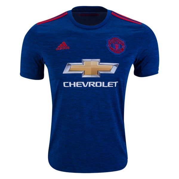 Manchester United 16/17 Away Soccer Jersey - Check out the latest British Premier League Soccer Jerseys and your favourite clubs apparel for 2016/17 at WorldSoccershop.com