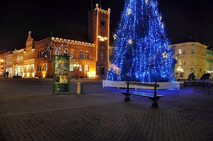 Polska Polen Poland Польша Szczecinek щетинки fotografia nocna Christmas