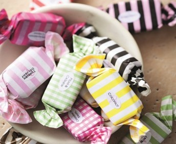 Pretty packaging: Sweet Temptations Toffee, winners of the Eat In DStv Food Network Produce award for confectionary.