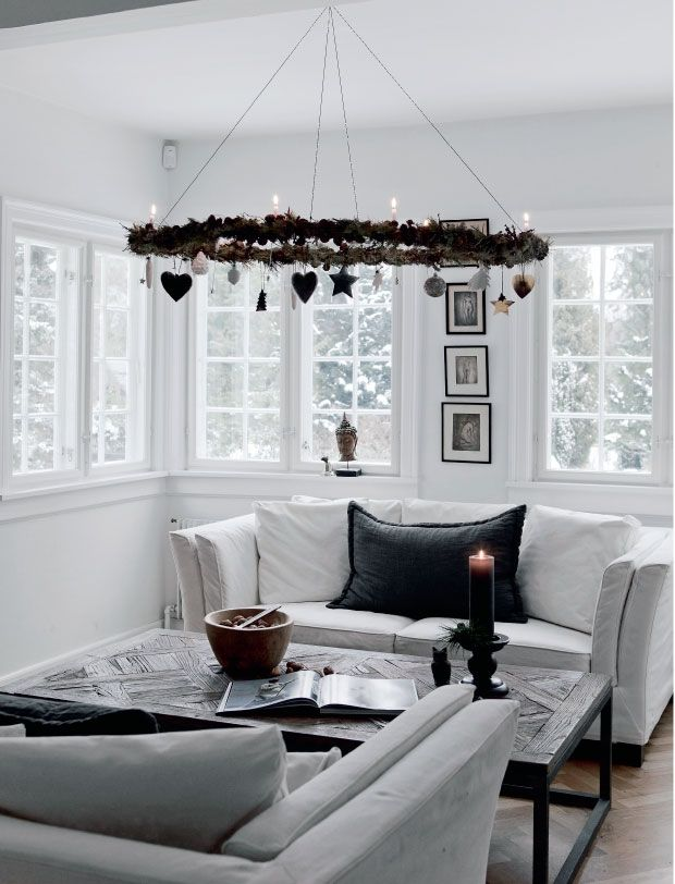 A Nordic Christmas in black and white                                                                                                                                                      Plus