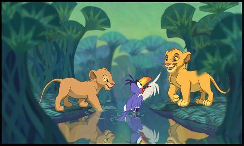 *SIMBA, ZAZU & NALA ~ The Lion King, 1994