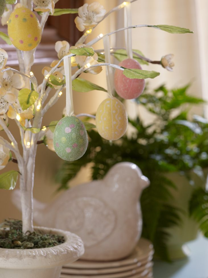215 best valerie parr hill decor qvc images on pinterest valerie set of 12 beaded eggs are shown hanging from the lit magnolia tree h199066 negle Image collections