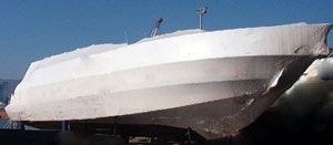 Rollo Lona Nautica termoelástica SHRINK  8 x 50 mt