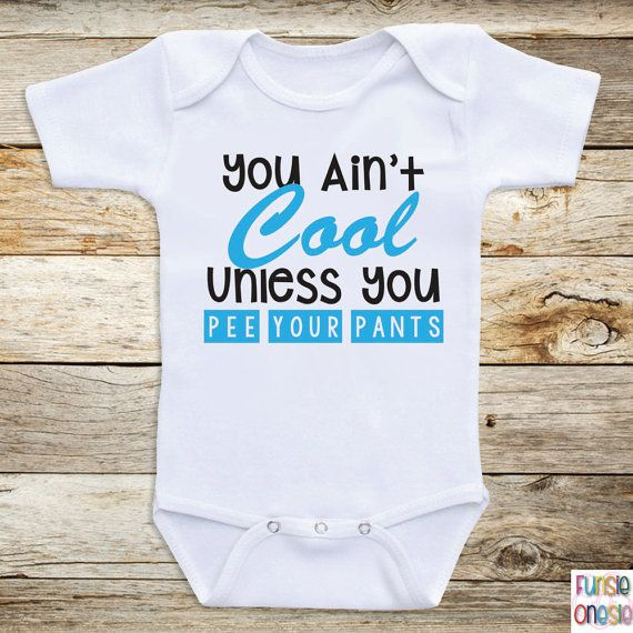 http://www.babyboyeasteroutfits.com/category/long-sleeve-onesies/ Funny Onesies For Babies You Ain't Cool Long by OnesiesForBabies