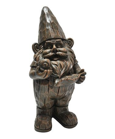 Look what I found on #zulily! Woodland Forest Gnome Statue by Kelkay #zulilyfinds