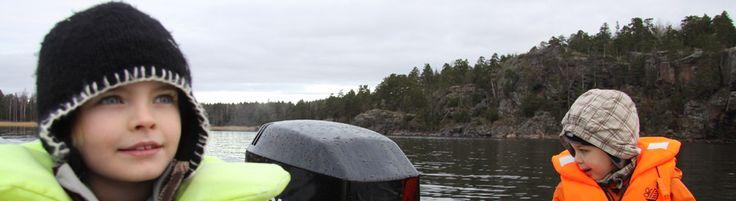 Family boating in the Archipelago near Helsinki, Finland:  http://www.kontikifinland.com/holidays/destination/1186945/sipoo/a-day-in-the-archipelago