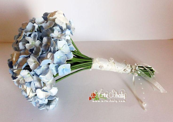 ArteShaly   Artesanía floral, ramos de novia, adornos boda… etc.. Porcelana fria, arcilla polimerica, etc…