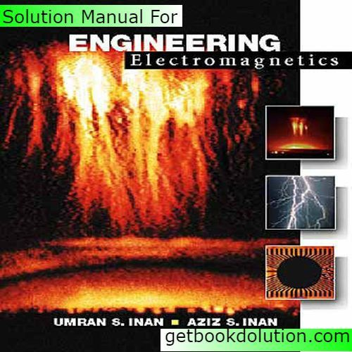 engineering electromagnetics 6th edition solution manual