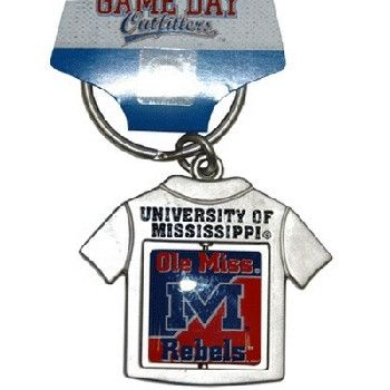University Of Mississippi 'Ol Miss Keychain Spinne Case Pack 48
