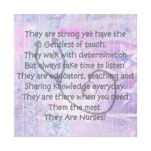 Canvas Nurse Poem Wall Art http://www.zazzle.com/canvas_nurse_poem_wall_art_they_are_nurses-192346590104899802?rf=238282136580680600