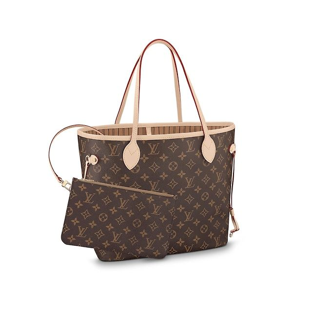 Women - Neverfull MM Monogram Canvas Women Handbags Business Bags ... c7d168674eb8a