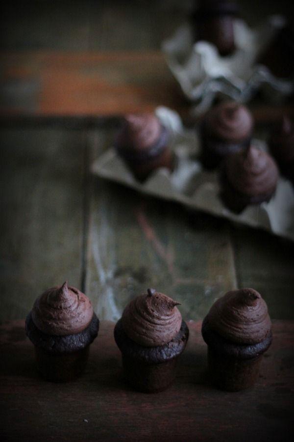 cupcakes al cacao e acqua