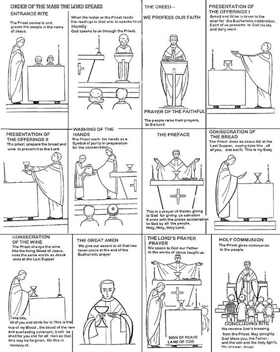 catholic mass coloring pages-#36