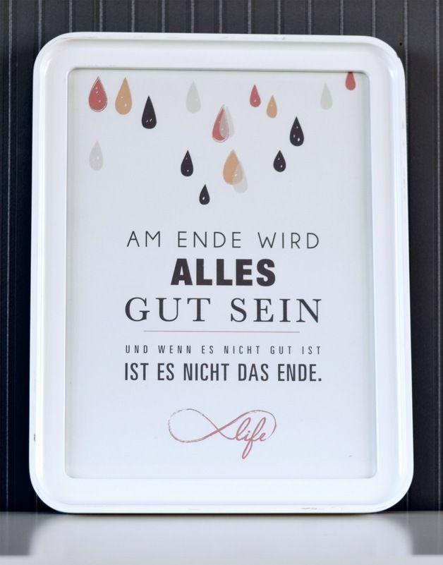 Originaldruck - Druck ♥Alles wird gut♥ - ein Designerstück von Formart-Zeit-fuer-schoenes bei DaWanda