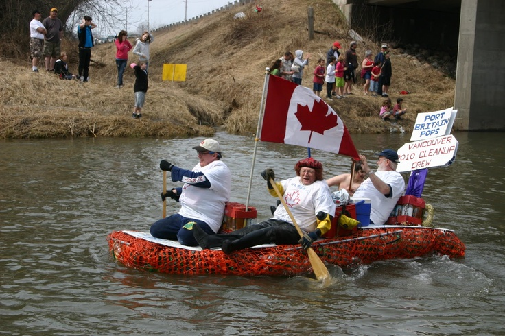 Float Your Fanny Down the Ganny River Race April 18th 2015 - postponed this year due to harsh winter weather conditions.