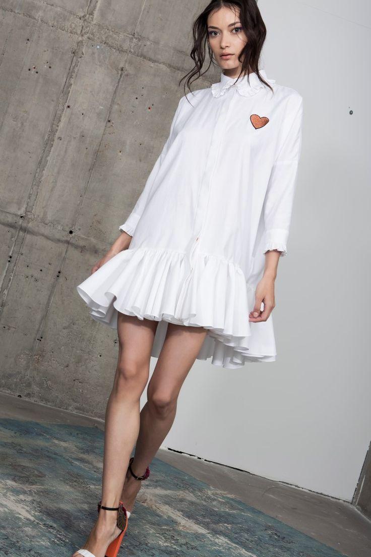Kandie shirt dress
