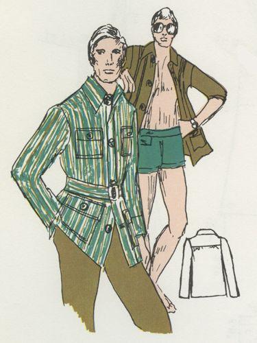Dot Pattern System Deluxe: Men's Jacket