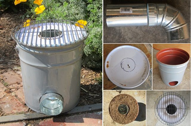 How To Make A Rocket Stove Made From A Five Gallon Metal