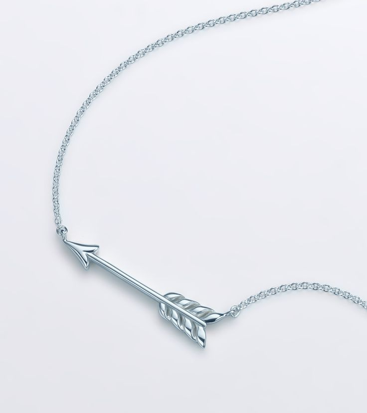 collections renee sterling pave ss diamonds necklace sheppard silver arrow diamond all with cn