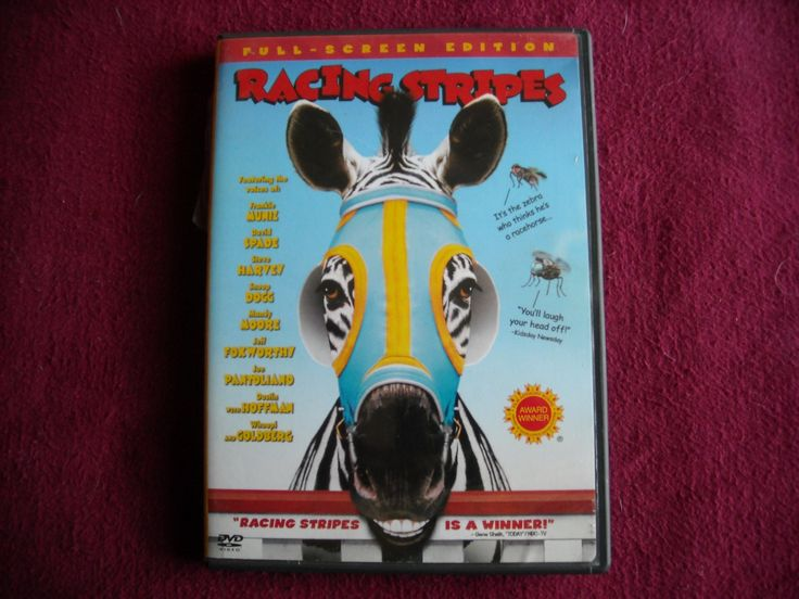Racing Stripes (Full Screen), DVD, Frankie Muniz, David Spade, Snoop Dogg - for sale at Wenzel Thrifty Nickel ecrater store