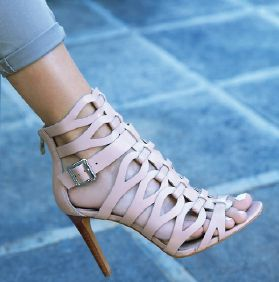 Vince Camuto strapped caged sandals