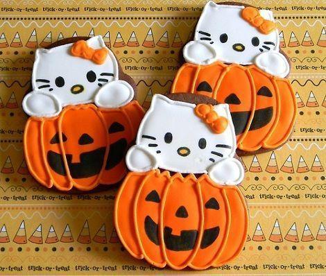 galletas de hello kitty decoradas  - Galletas Hello Kitty decoradas
