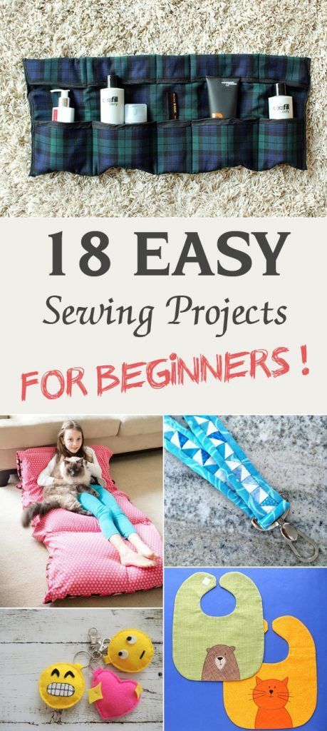 18 Easy Sewing Projects for Beginners