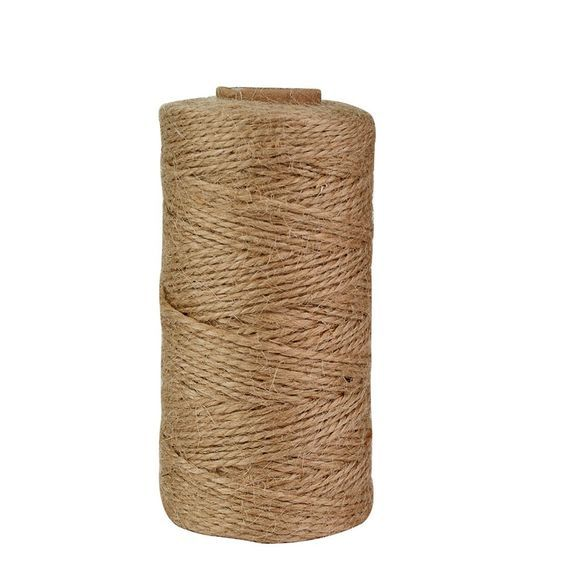 300 Feet Natural Jute Twine, Jmkcoz Arts Crafts Twine Industrial Gift Packing Materials Bakers Twine Durable Natural Twine * Unbelievable  item right here! : Bakeware