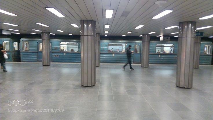M3 metro @Covin-negyed metrostation Budapest by DaneschPter