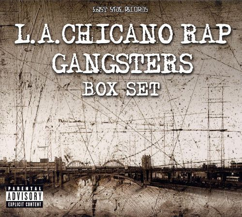 La Chicano Rap Gangsters [CD] [PA]