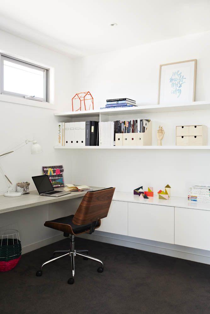 Colourful study of stylist Aimee Tarulli of Archer Interiors home