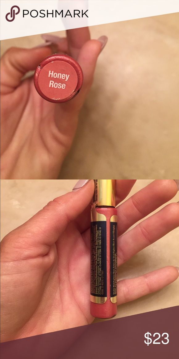 Honey rose lipsense Tester. Tested twice. Discontinued color. Makeup Lip Balm & Gloss