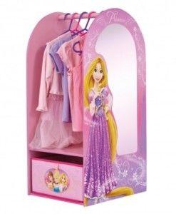 Disney Princess Garderob med spegel