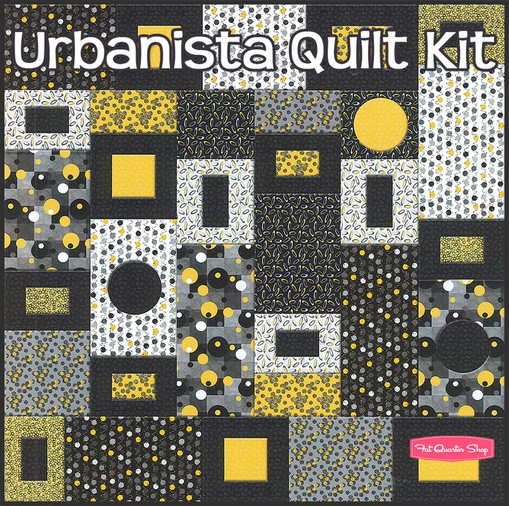 Urbanista Quilt Kit Featuring Urbanista by Belinda - Fat Quarter Shop