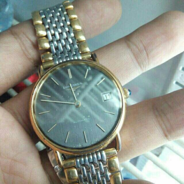 Jam tangan Original longines vintage Automatic Harga 6,5 juta /nego  Hp : +62 813-1015-1127
