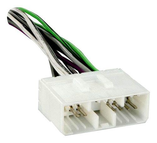 Metra - Amplifier Bypass for 1995-2000 Mitsubishi Eclipse and 1997-1998 Mitsubishi Galant Vehicles - White
