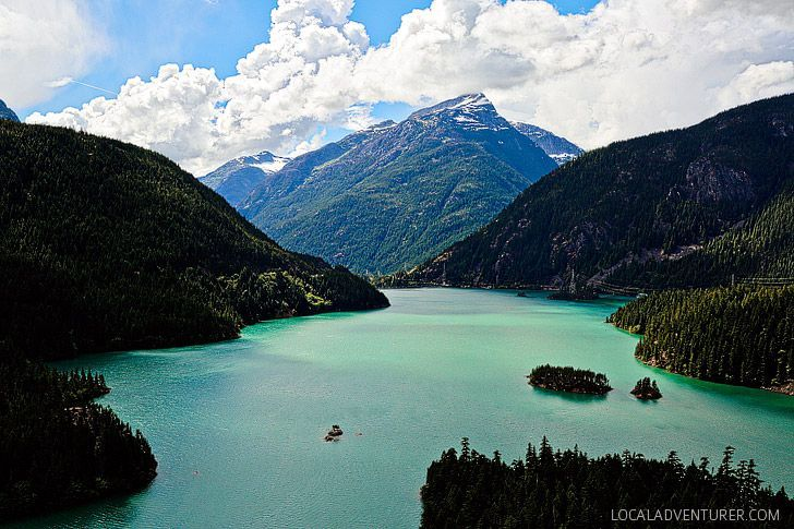 Diablo Lake - Ross Lake National Recreation Area in North Cascades National Park Complex, WA USA // localadventurer.com