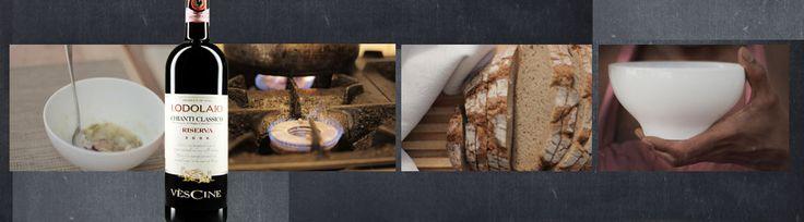 Etwas warmes für kalte Tage: #Cremesuppe von der #Petersilienwurzel zum #Chianti Classico Riserva von #Vèscine!