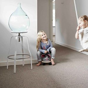 #carpet for the #nursery .Here is your answer #airmaster by #desso. The  #carpet that cleans the  #air #aslanglou #antialergic for #children