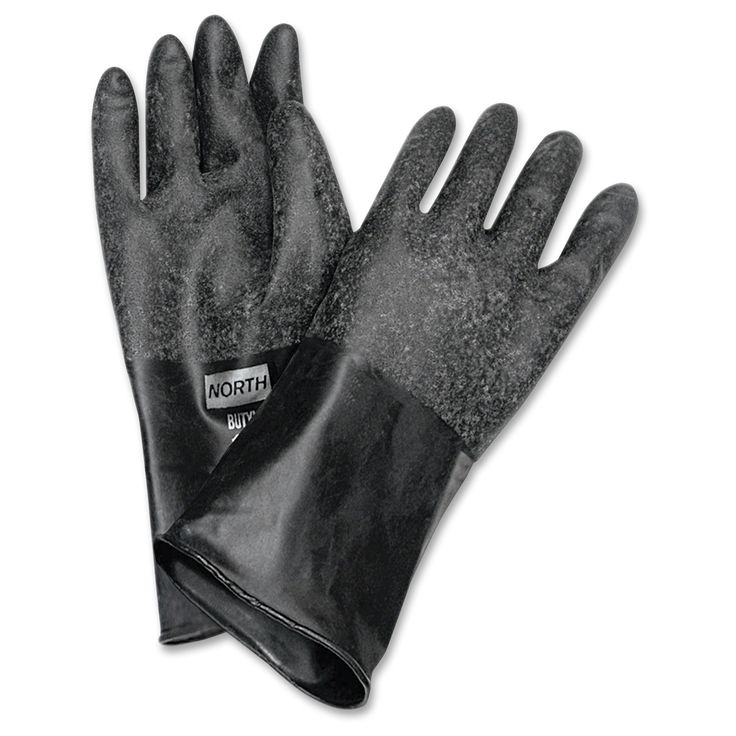 Honeywell North Butyl Chemical Protection Gloves -