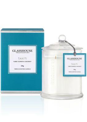 Glasshouse Tahiti, Tiare Flower & Coconut Candle