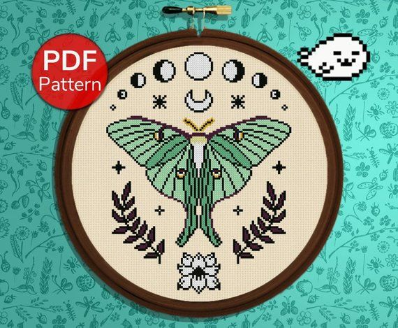 Pentagram sun embroidered patch 8x8 cm