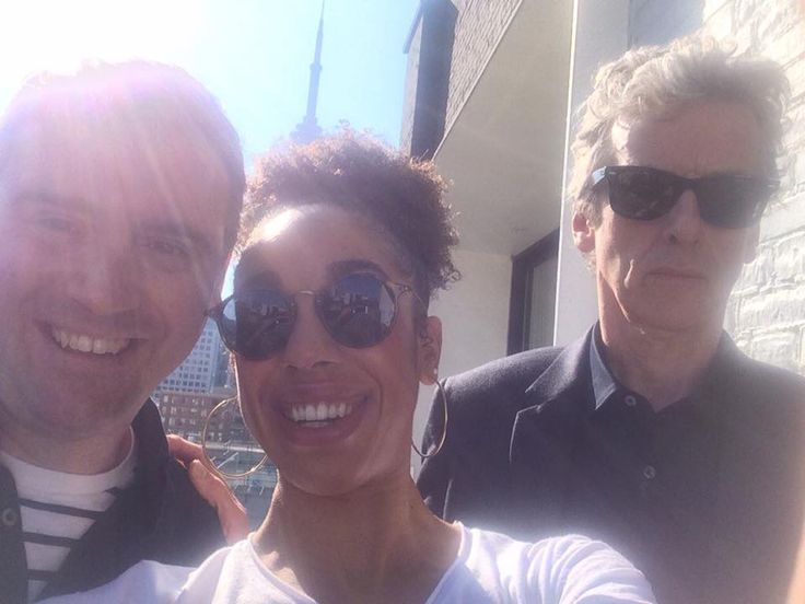 Doctor Who Today · Selfie in Toronto!